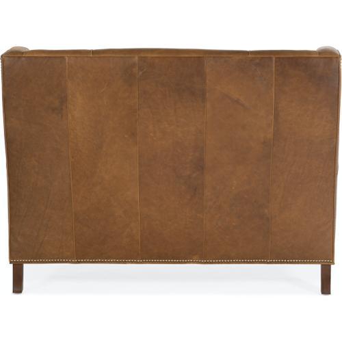 Bradington Young - Bradington Young Lavendar Settee 8-Way Hand Tie w/Two Cushions 694-85