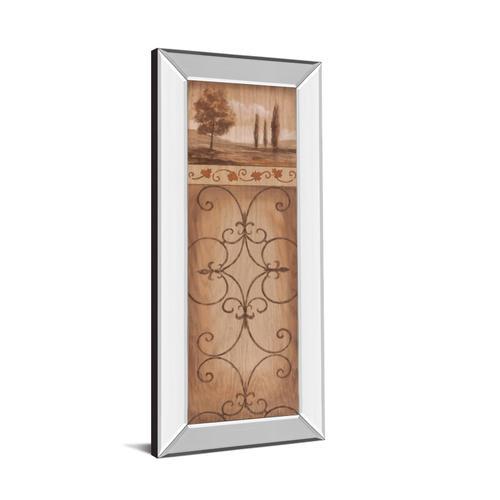 """""""Iron Landscape Il"""" Mirror Framed Print Wall Art"""