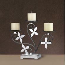 See Details - LONIA MIRROR/IRON CANDLE HOLDER