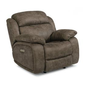 Como Power Gliding Recliner with Power Headrest
