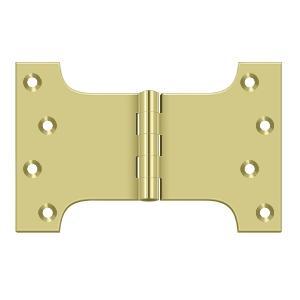 "4"" x 6"" Hinge - Polished Brass"