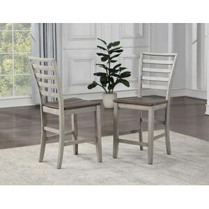 Abacus 5-Piece Drop-leaf Counter Table Set (Counter Table & 4 Counter Chairs)