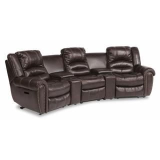 See Details - Town Power Reclining Sectional with Power Headrests