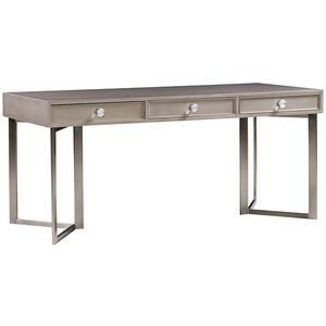 Berkley Desk with Metal V Base HH08