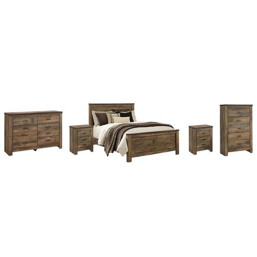 Ashley - Queen Panel Bed With Dresser, Chest and 2 Nightstands