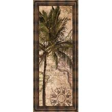 """Exotic Destination I"" By Katrina Craven Framed Print Wall Art"