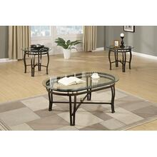 Paavo 3pc Coffee Table Set