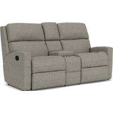 View Product - Catalina Reclining Loveseat with Console