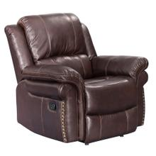 See Details - Reclining Armchair - Brown - Glorious Collection