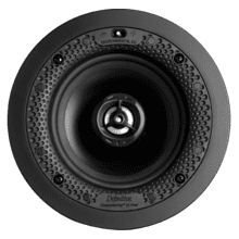 "Disappearing™ Series Round 5.5"" In-Wall / In-Ceiling Speaker"