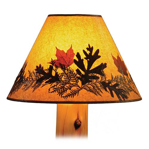 Small Lamp Shade Foliage
