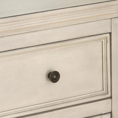 Cream Four Door Console