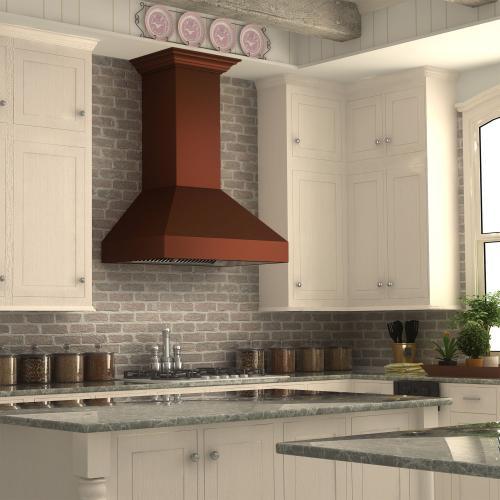Zline Kitchen and Bath - ZLINE Designer Series Wall Mount Range Hood (8667C) [Size: 48 Inch]