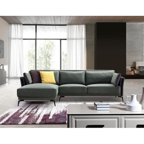 Divani Casa Koval Modern Eco-Leather Sectional Sofa