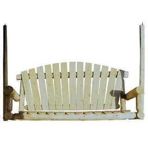5 Ft. Log Porch Swing