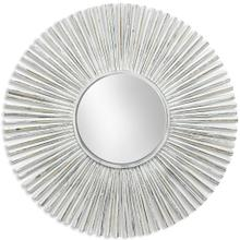 See Details - WEATHERED WOOD MIRROR  42in X 42in  Coastal Round Weathered Wood Wall Mirror