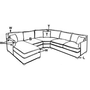 210 SECTIONAL PIECES