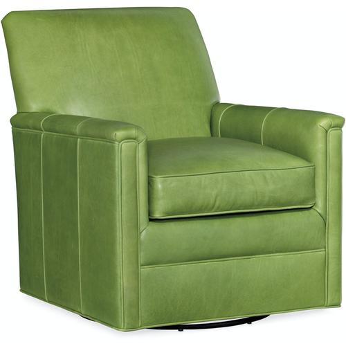 Bradington Young Hawkins Swivel Chair 8-Way Hand Tie 438-25SW