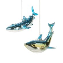 Shark Ornaments (4 pc. ppk.)