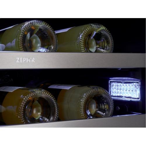 """24"""" French Door Dual Zone Wine Cooler"""