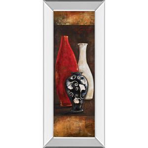 """""""Eastern Bazaar I"""" By Loretta Linza Mirror Framed Print Wall Art"""