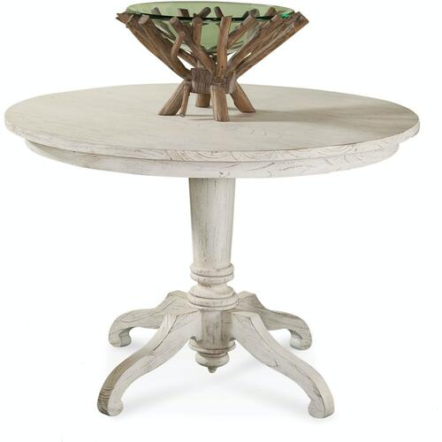 "Gallery - Fairwind 42"" Round Pedestal Dining Table"