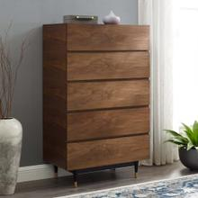 Caima Wood Chest in Walnut