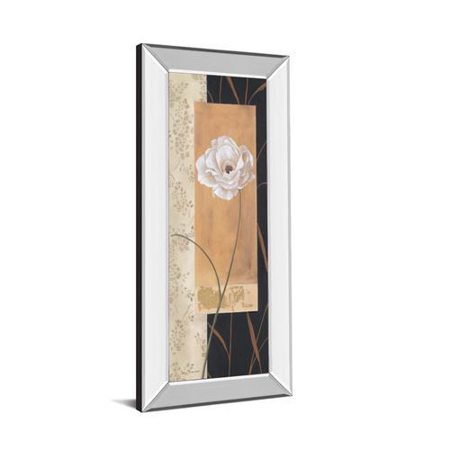 "Classy Art - ""Black & Gold Il"" By Carol Robinson Mirror Framed Print Wall Art"