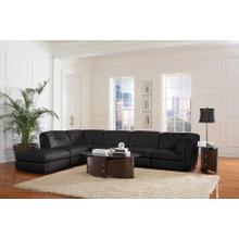 Quinn 6PC Sectional - Black