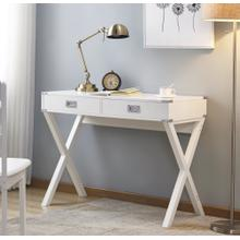 See Details - 3879 White Writing Desk