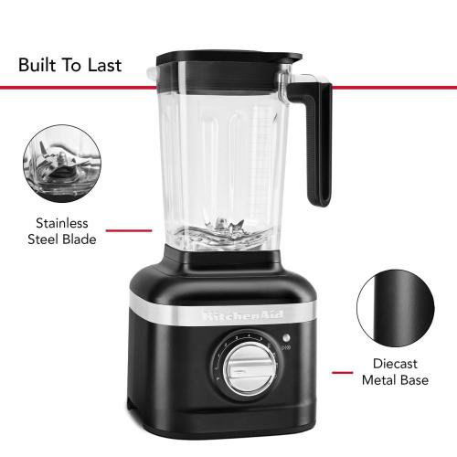 K400 Variable Speed Blender - Black Matte
