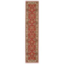 Ashara Agra Red Runner 2ft 6in x 12ft