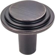 "1-1/8"" Diameter Stepped Cabinet Knob."