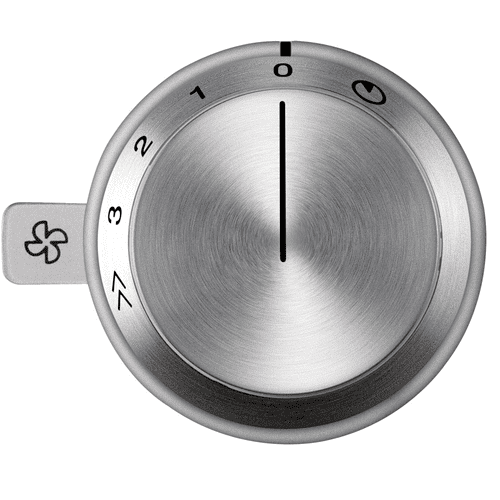 Gaggenau - Vario control knob ventilation 400 series AA 490 711 Stainless steel