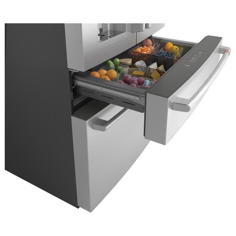Café ENERGY STAR® 27.8 Cu. Ft. Smart 4-Door French-Door Refrigerator