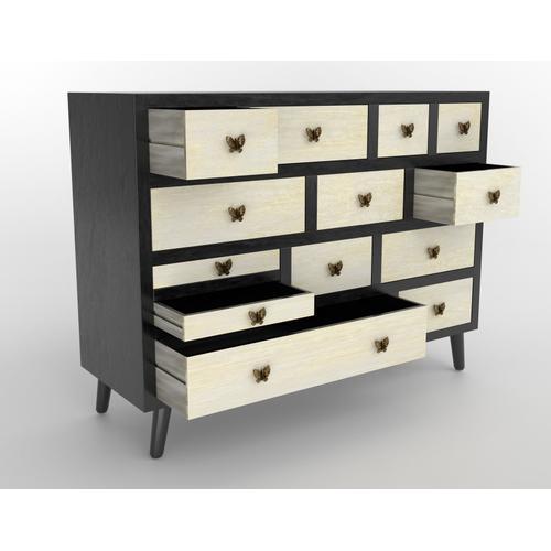 Papillon 13-Drawer Sideboard