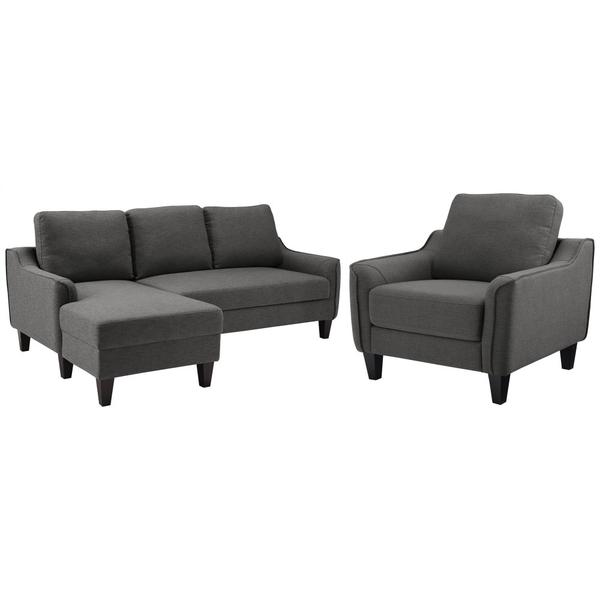 See Details - Sofa Chaise and Chair