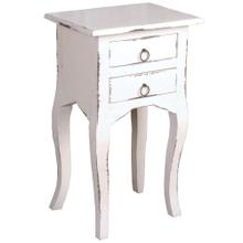 See Details - Table - Distressed White