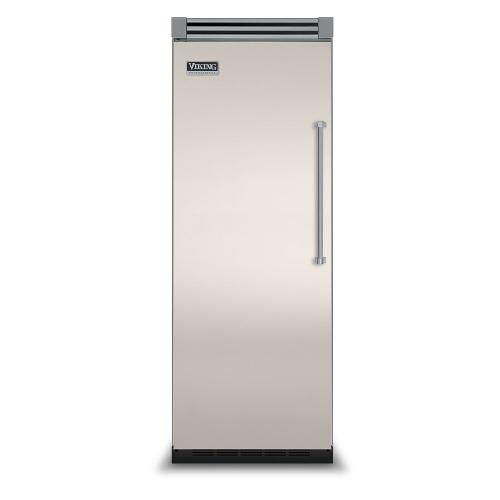 """Viking - Oyster Gray 30"""" Quiet Cool™ All Refrigerator - VIRB Tru-Flush™ (Left Hinge Door)"""