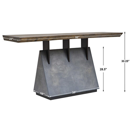 Vessel Console Table