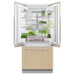 "Integrated French Door Refrigerator Freezer, 32"", Ice Photo #3"