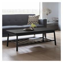 GA Wycombe Rectangle Coffee Table Black