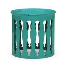 Moorish sofa tables (Aruba Blue)
