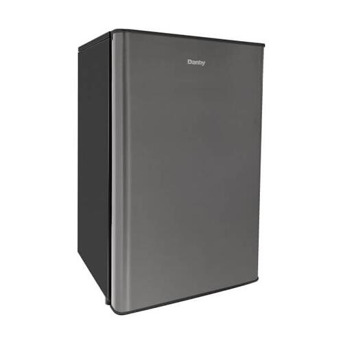 Danby 4.4 cu. ft. compact refrigerator stainless look