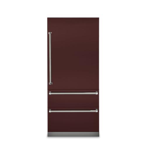 "Viking - 36"" Fully Integrated Bottom-Freezer Refrigerator - VBI7360W"