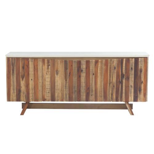 Tov Furniture - Astoria White Concrete Buffet