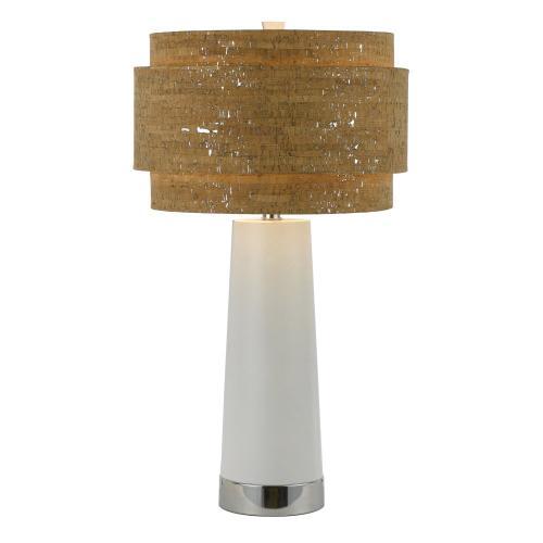 Hanover Outdoor Furniture - AF Lighting 8402 Table Lamp- Pearl, 8402-TL
