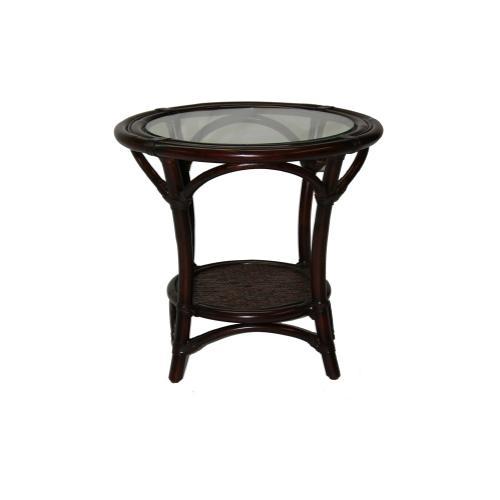 Bali Side Table w/Glass