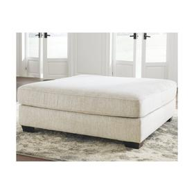See Details - Rawcliffe Oversized Accent Ottoman Parchment