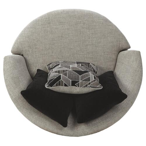 Megginson Round Swivel Chair